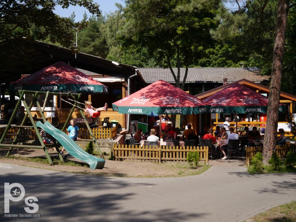 """Camping Stogi nr 218 w Gdańsku Plac zabaw i restauracja na campingu """"Stogi"""" nr 218 w Gdańsku"""