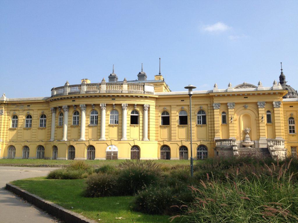 Termy Széchenyi Budpaeszt Węgry