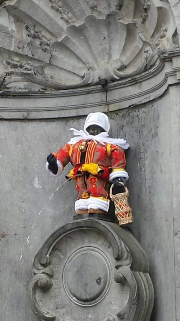 3 powody by odwiedzić Belgię- fontanna