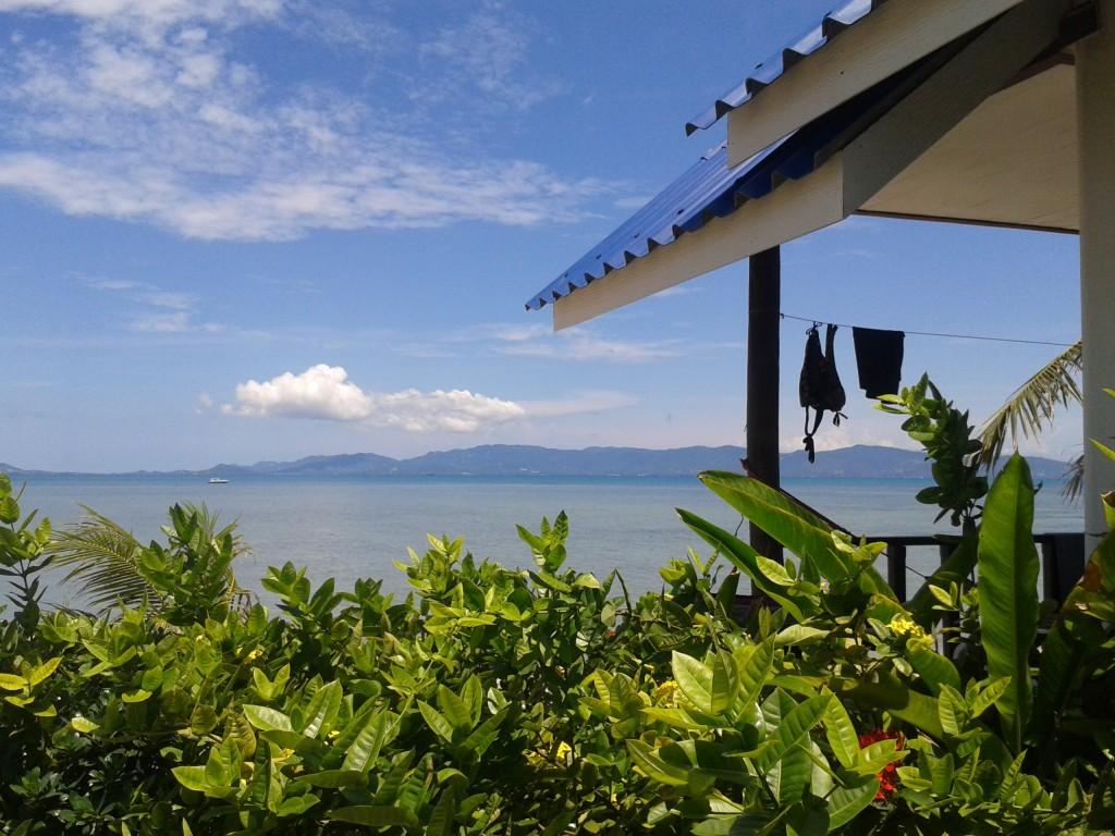 Noclegi w Tajlandii- ceny No i jest domek z widokiem na morze na Koh Phangan!