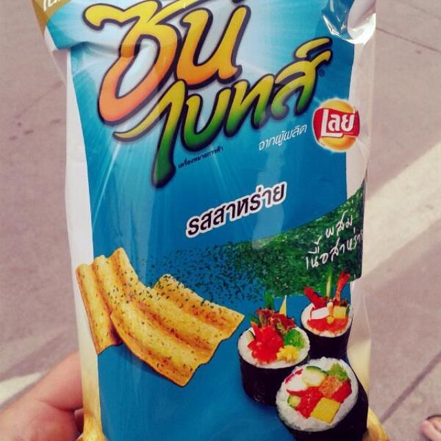 Ceny jedzenia i picia w Tajlandii Chipsy
