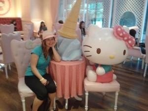 Siam- I jak tu sobie nie zrobić zdjęcia z Hello Kitty?!