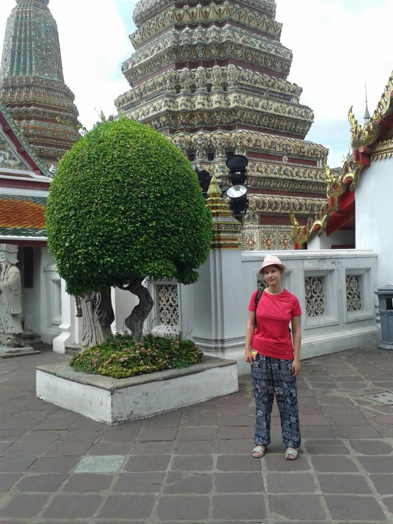 Wat Pho Słoniowe spodnie rules.