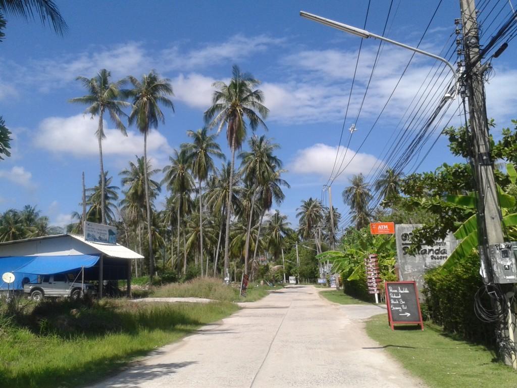 Coco Gardens i mój wymarzony domek na Koh Phangan Idziemy, idziemy, a resortu nadal nie widać...