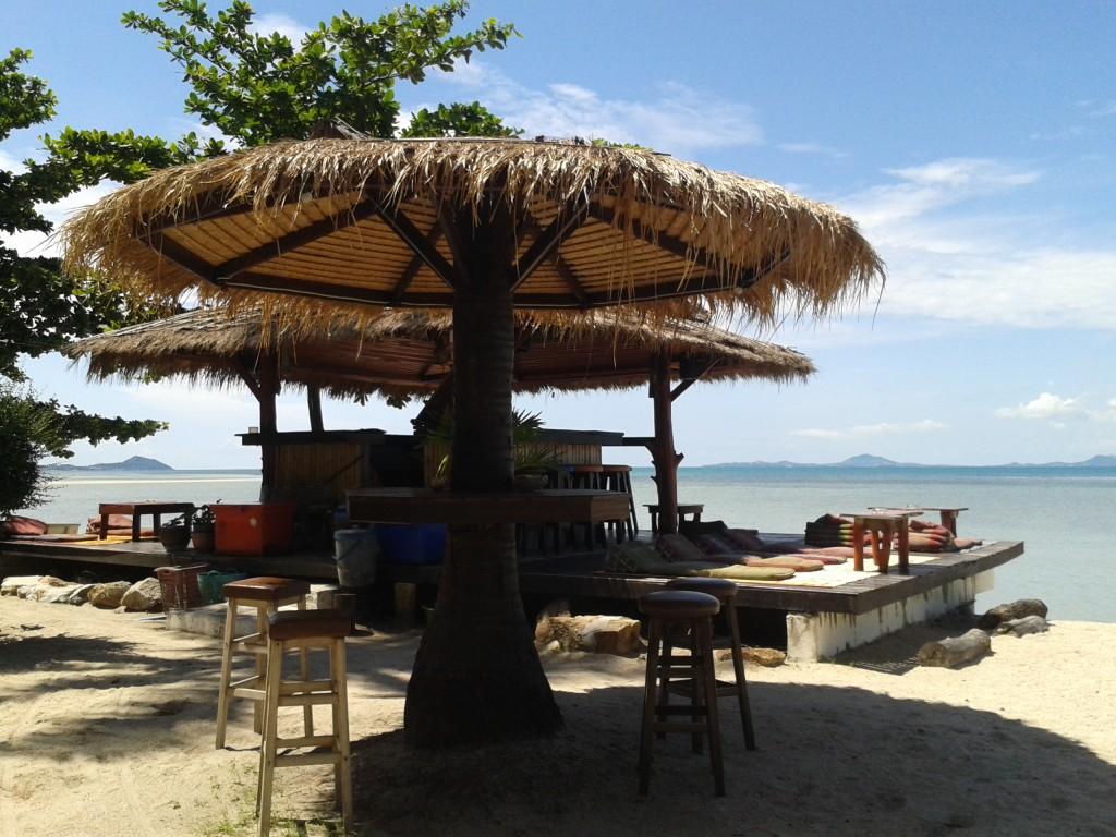 Coco Gardens i mój wymarzony domek na Koh Phangan Bar i taras