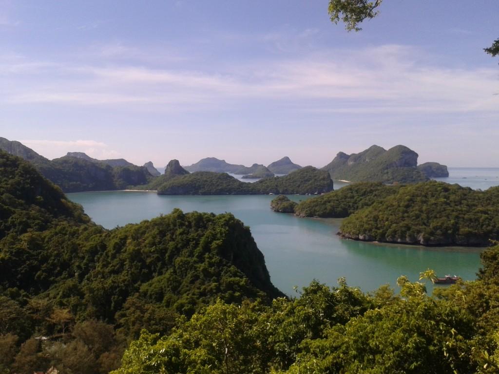 Ang Thong National Marine Park w Tajlandii Niech mnie ktoś uszczypnie... albo lepiej nie ;) Wow wow wow!