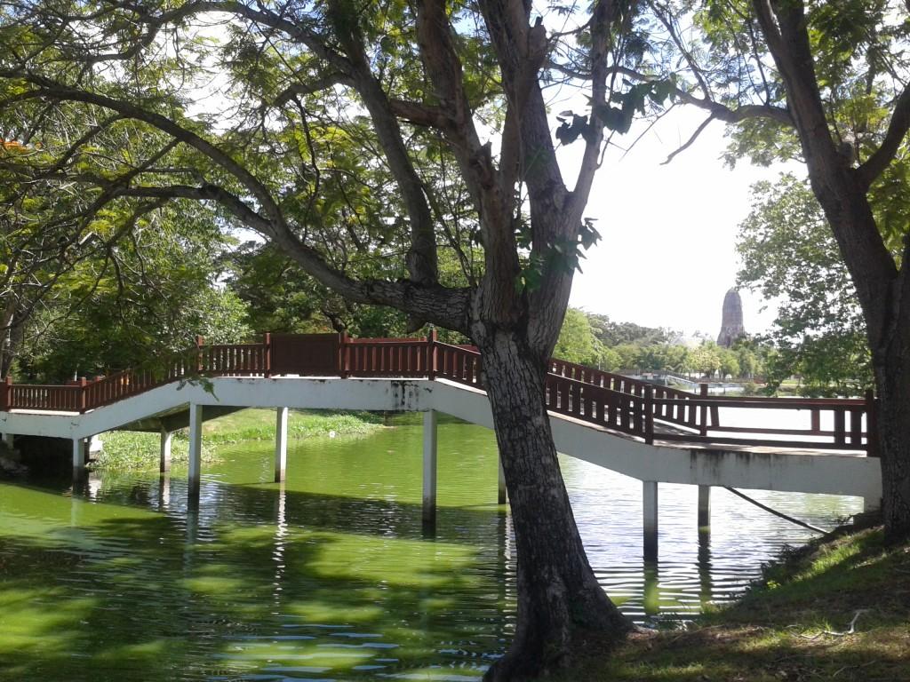 Park w Ayutthaya