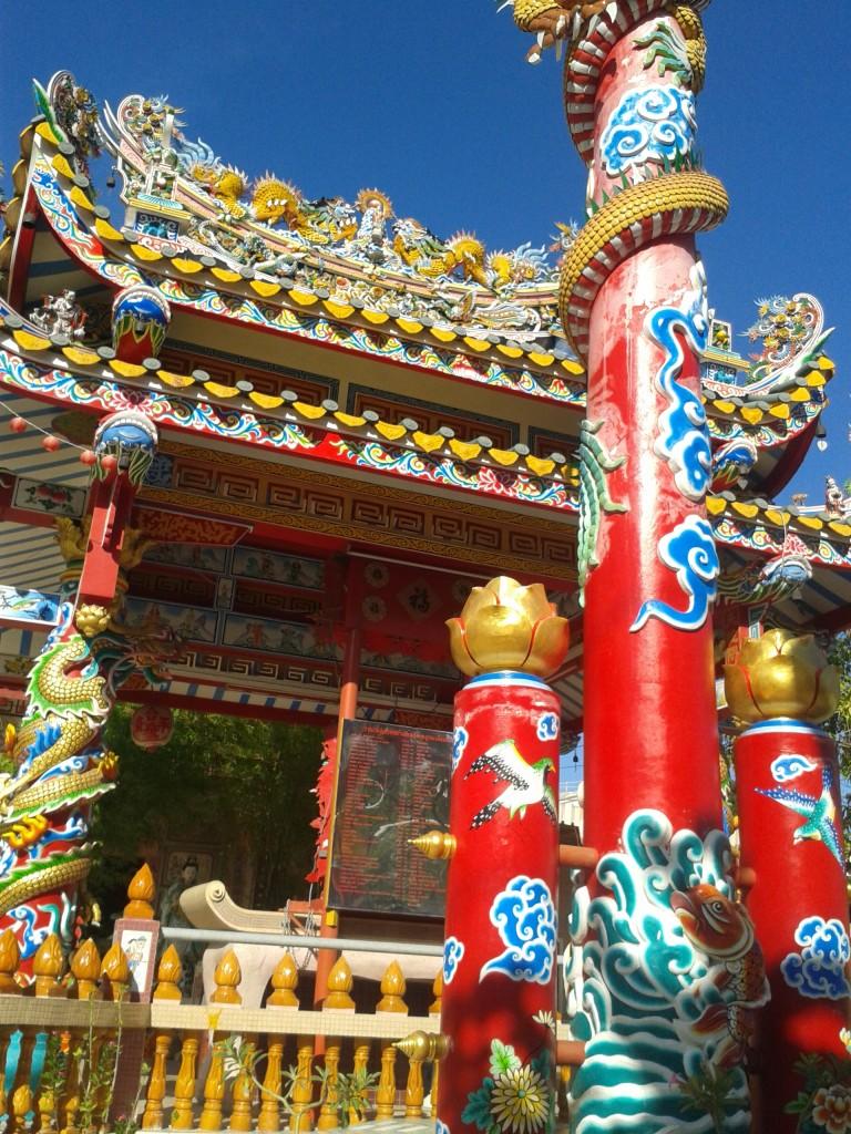 Chińska świątynia w Ayutthaya
