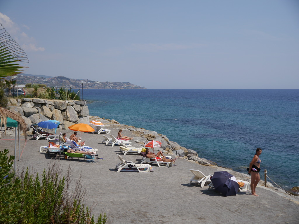 """Camping Villaggio dei Fiori Sanremo- """"patelnia"""""""