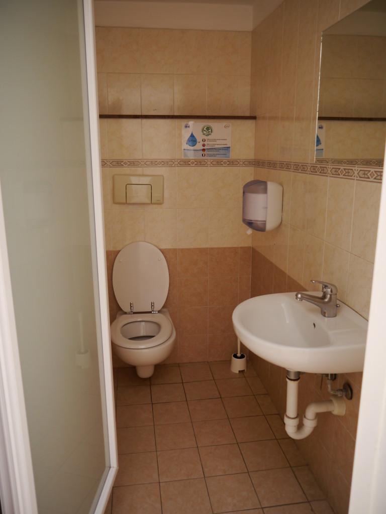 Camping Villaggio dei Fiori Sanremo- toaleta