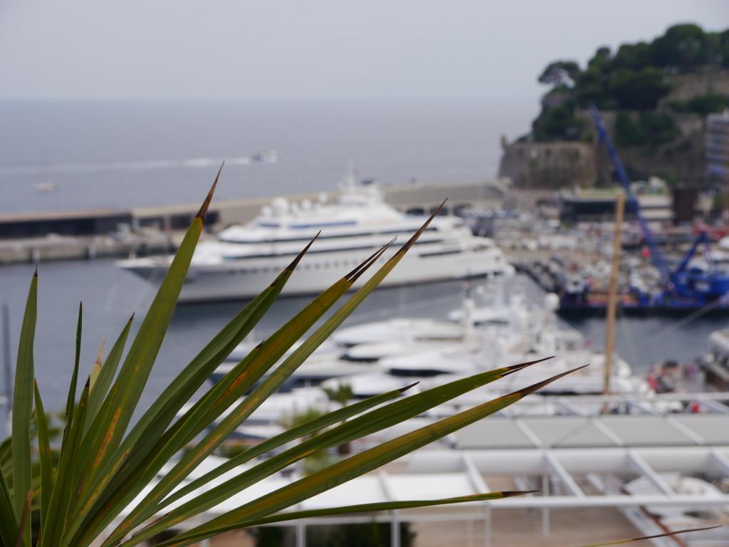 Jachty w Monako