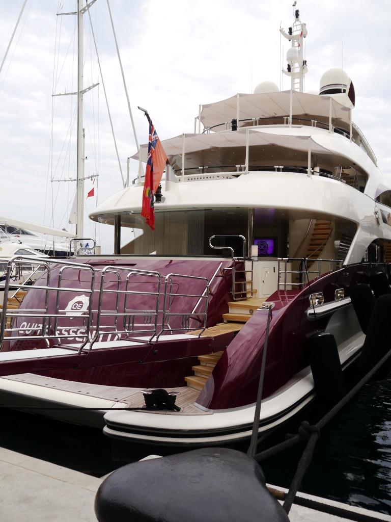 Jeszcze więcej jachtów w Monako :)