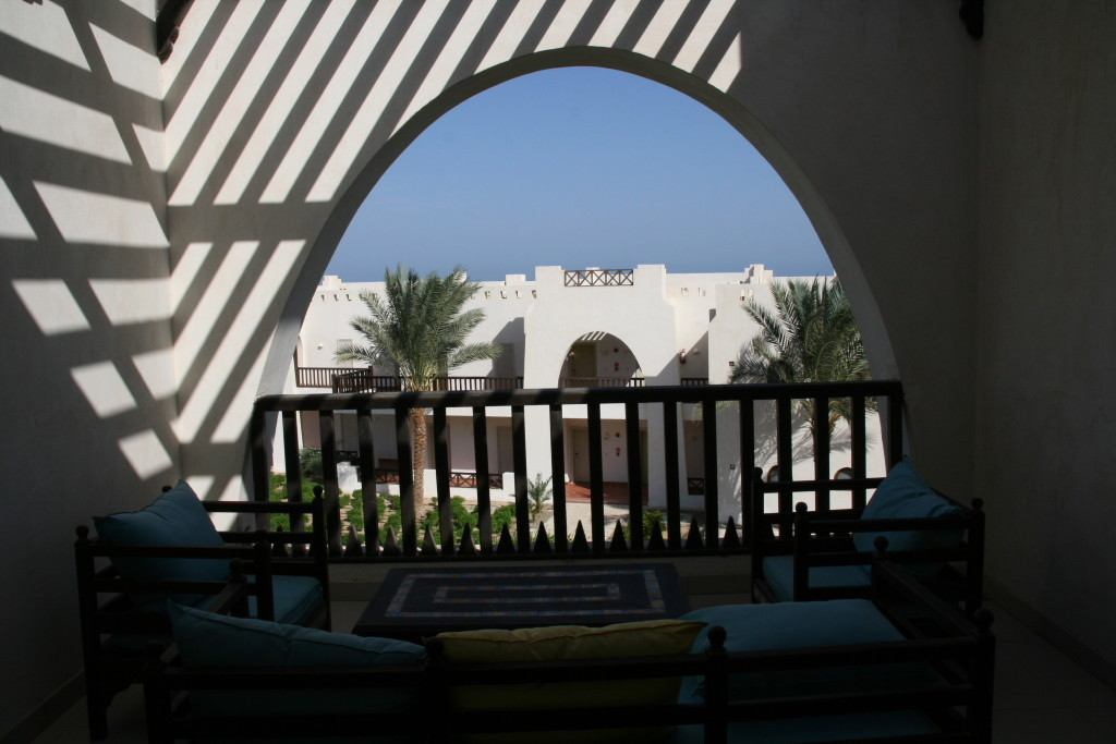 Hilton Nubian Resort Marsa Alam- balkon