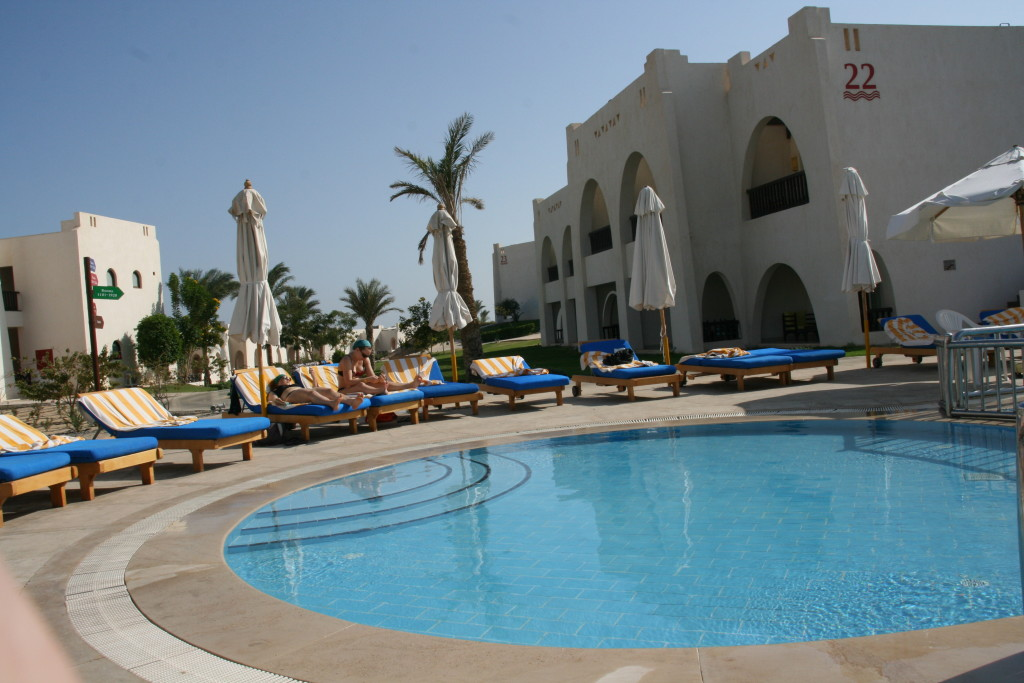 Hilton Nubian Resort Marsa Alam- baseny