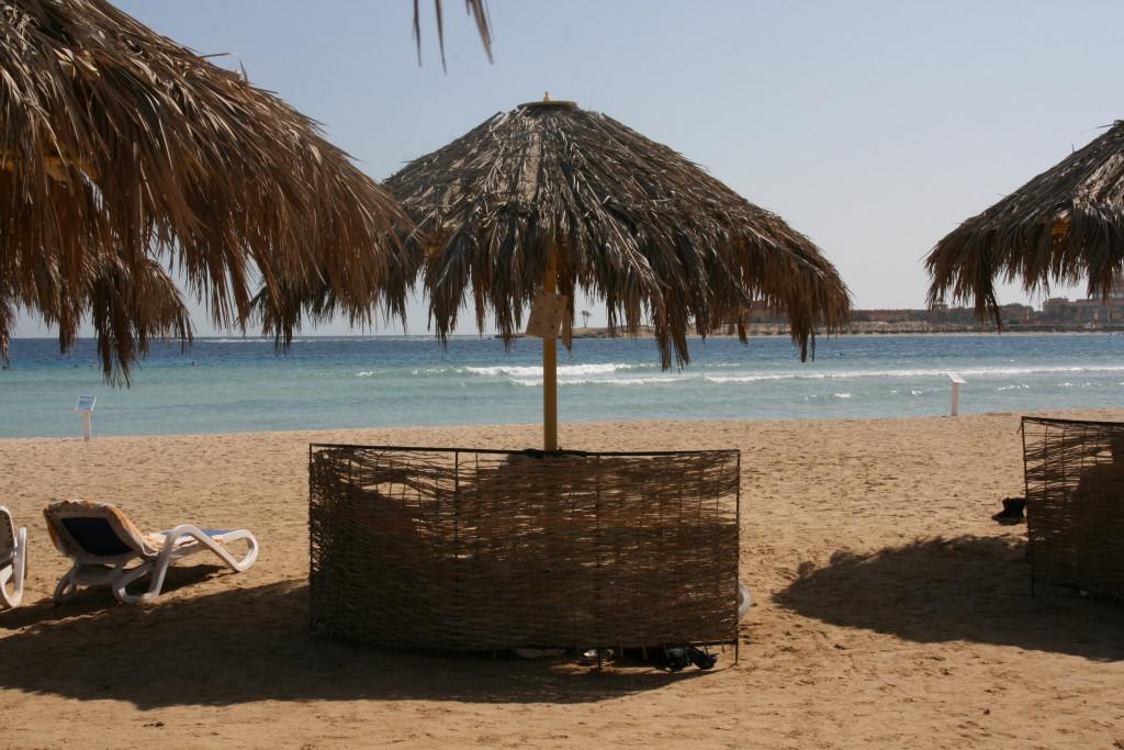 Hilton Nubian Resort Marsa Alam- plaża