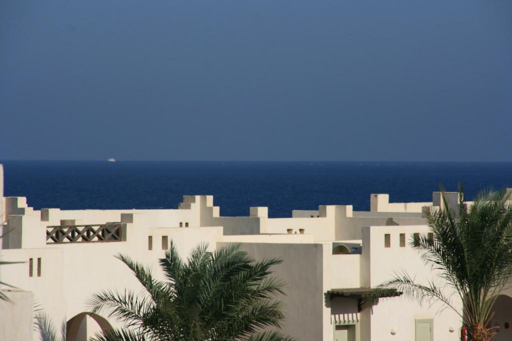 Hilton Nubian Resort Marsa Alam- widok z balkonu