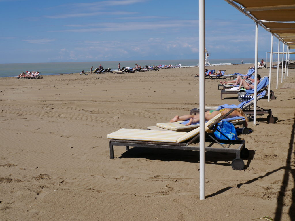 Lykia World & Links Golf w Antalya opinie plaża