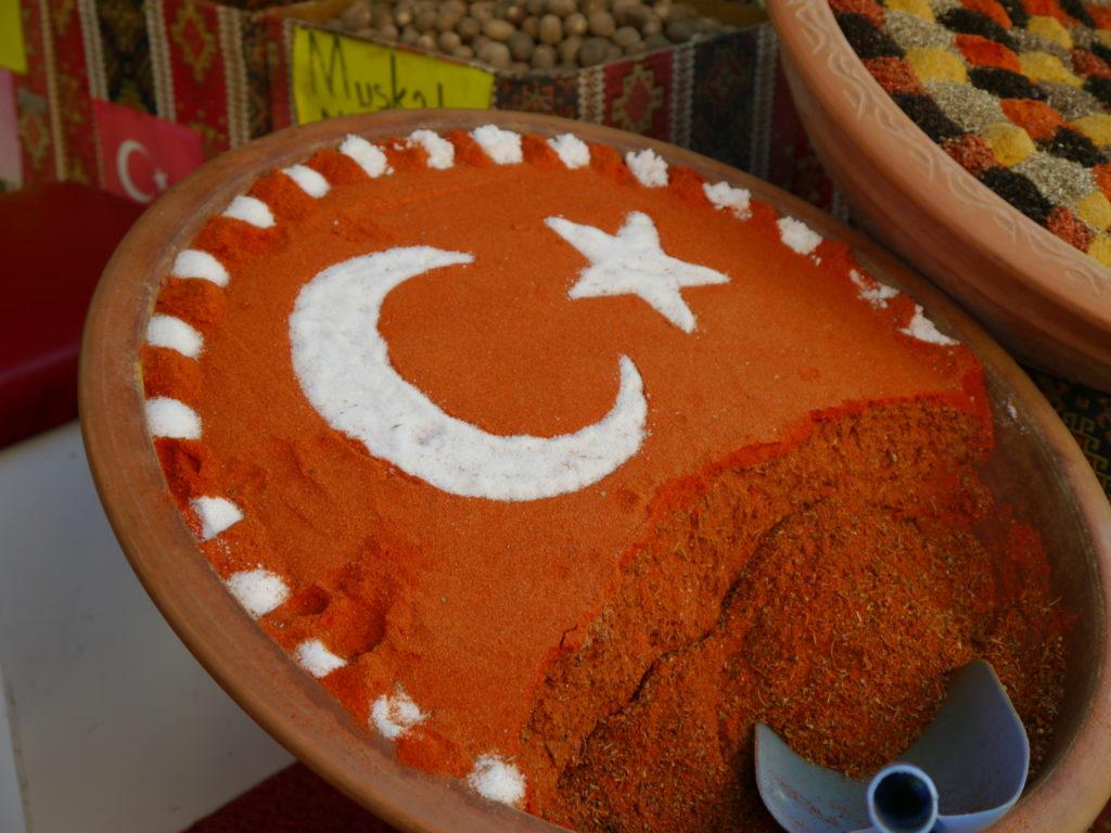 Sklepiki w Side Turcja