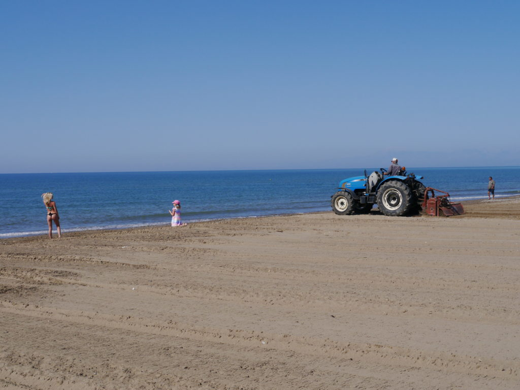 Lykia World&Links Golf Antalya Turcja all inclusive plaża
