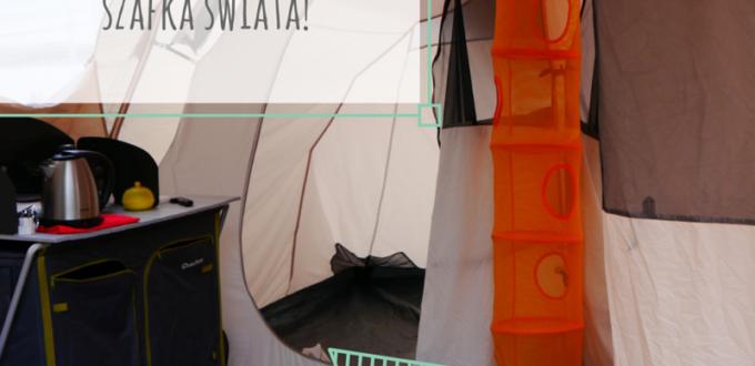 Campingowe know how co zabrać pod namiot szafka rozkłądana wisząca ikea