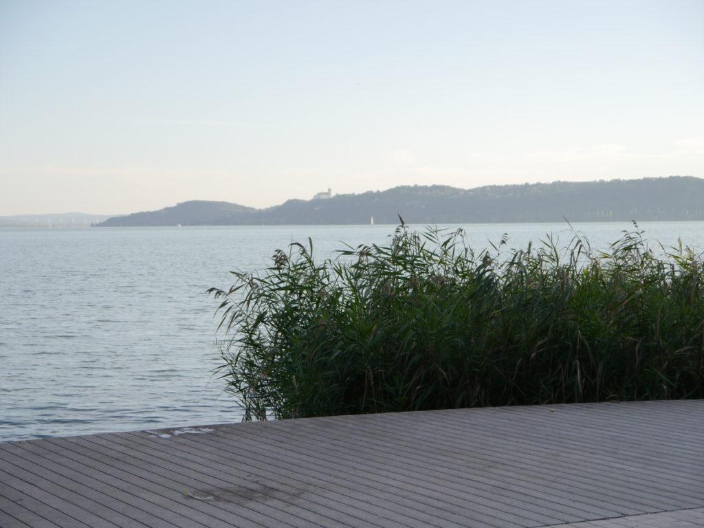 Węgry Balaton we wrześniu Balatonfured