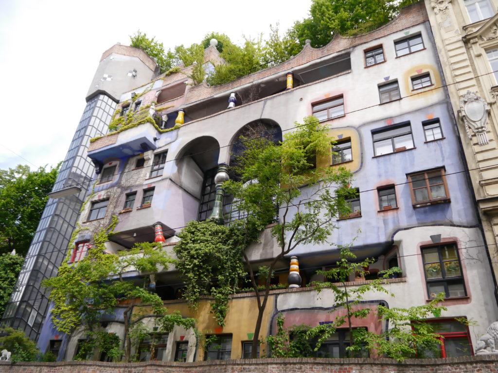 Co zobaczyć w Wiedniu Hundertwasserhaus