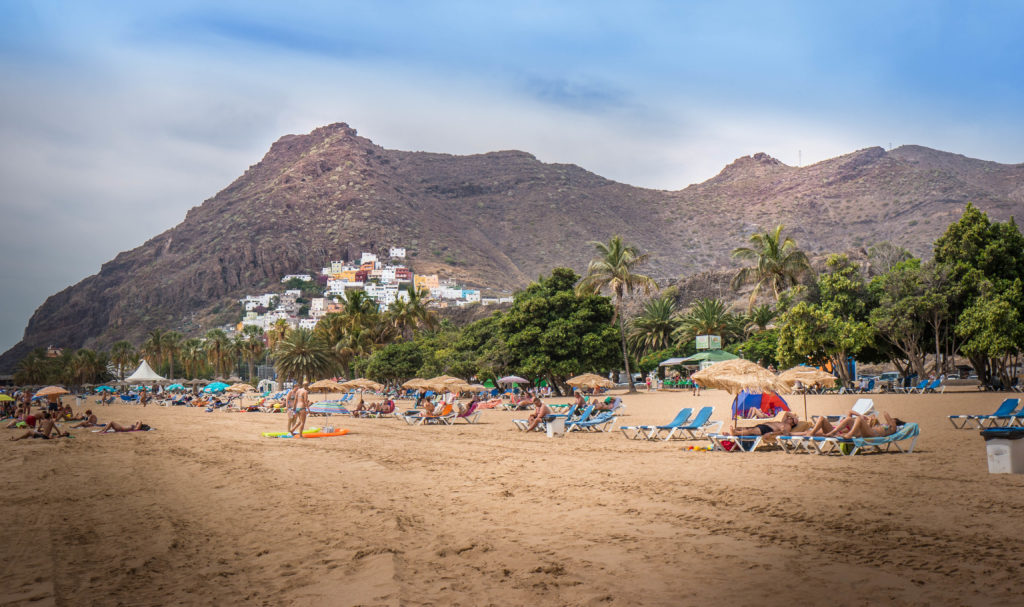 Plaża Las Teresitas Santa Cruz Teneryfa
