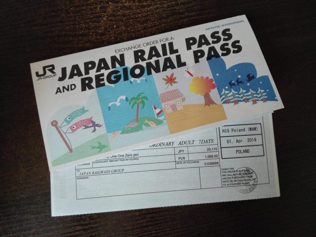 JR Pass Voucher do wymiany na kartę (Shinkansen, Japonia)