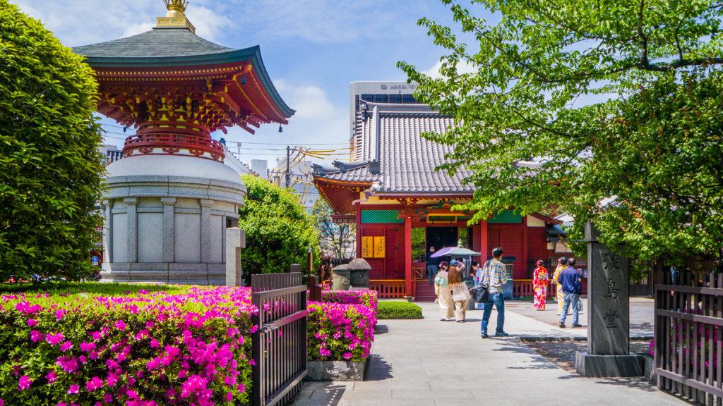 Asakusa Tokio Japonia - Senso-ji