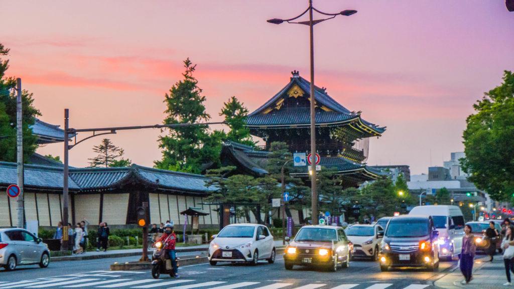 Higashi Hongan-ji Kioto Japonia