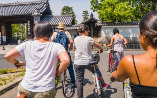 Atrakcje Airbnb - rowerem po Kyoto i Kinkauji (Japonia by Podróże Szczęściary)