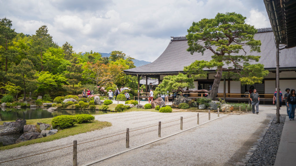 Tenryuji Temple oraz Sogenchi Garden Kyoto Arashiyama