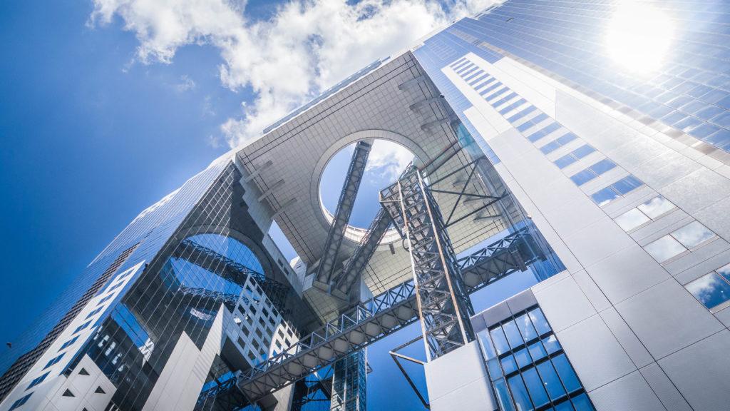 Umeda Sky Building Osaka (Japonia by Podróże Szczęściary)